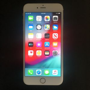 Unlocked MINT GOLD Apple iPhone 6 Plus With New Case for Sale in West Windsor Township, NJ