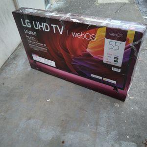 """-FIRM PRICE NON NEGOTIABLE- 55"""" In. LG 4k Smart Tv for Sale in Stockbridge, GA"""