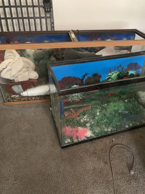 Fish tanks for sell, make me an offer for Sale in Riverdale, GA