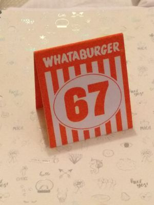 Whataburger #67 sign!! for Sale in Spring, TX