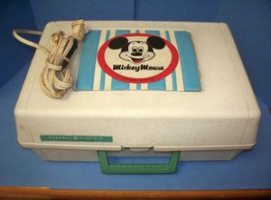 4Rare Disney Record Players And Record Case- Character Players for Sale in Columbus, OH