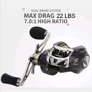 low profile bait caster fishing reel right hand retrieve for Sale in West Covina, CA
