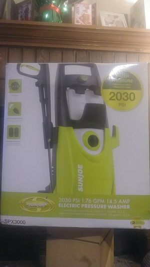 Sunjoe Electric pressure washer for Sale in Memphis, TN