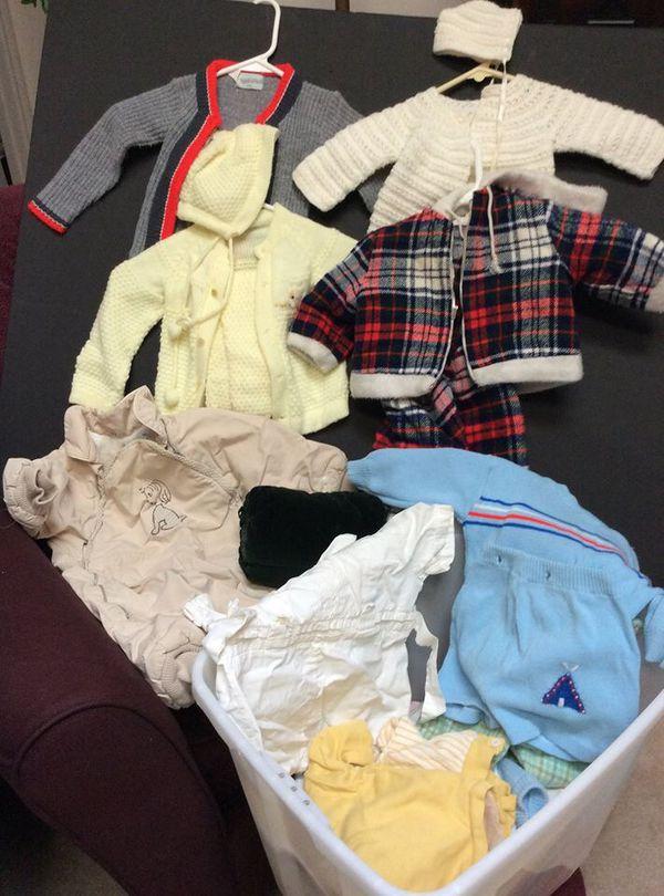 Vintage Baby Clothes