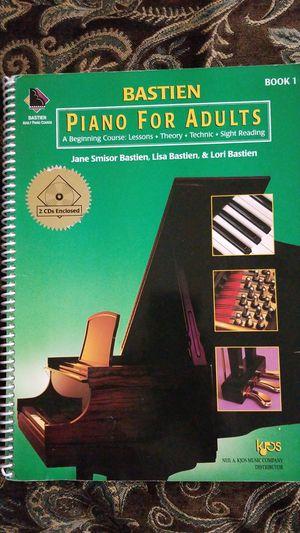 Piano for Adults book 1 for Sale in El Cajon, CA