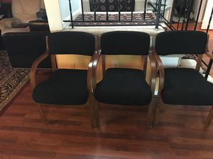 3 comfortable wooden chairs for Sale in Springfield, VA