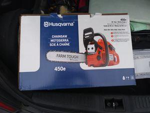 Husqvarna 450e Chainsaw for Sale in Silver Spring, MD