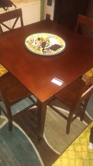 WOODEN KITCHEN TABLE for Sale in Ville Platte, LA
