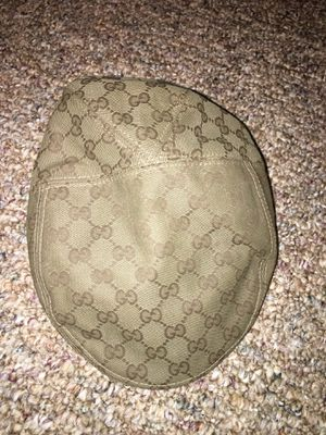 GUCCI BERET leather HAT. SIZE MEDIUM!! AUTHENTIC for Sale in Arlington, VA