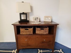 Console Table or TV Stand with drawer that can also be used as a filing cabinet for Sale in Edison, NJ