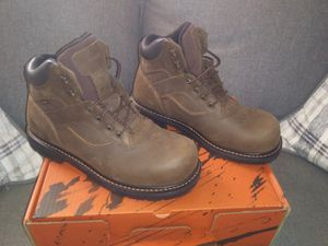Worx by red wing shoes size 10.5 steel toe work boots for Sale in CMBRLND FRNCE, TN