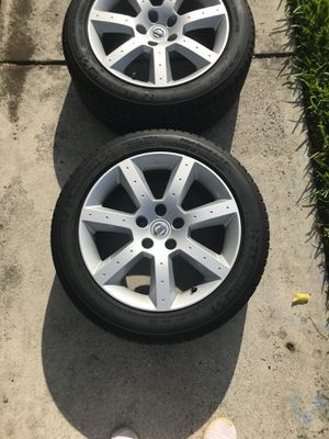 350z rims and tires for Sale in Miramar, FL
