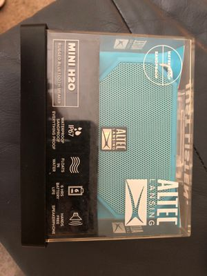 Altec Lansing mini H20 rugged Bluetooth speaker for Sale in Woodbridge, VA