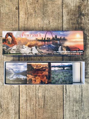 America's 60 Piece Memory Card Game - National Parks - Monuments - Memorials - If Is Posted Is Available- for Sale in Grand Island, FL