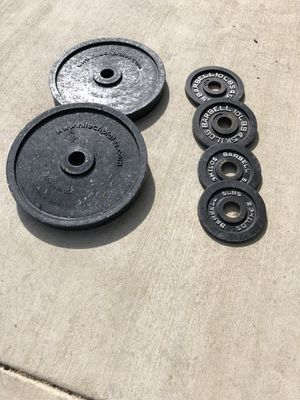 50 POUNDS PLATES OLYMPICS for Sale in Forney, TX