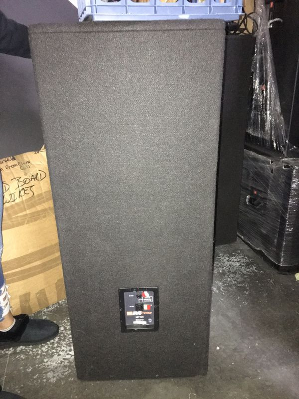 JBL MPRO 225 Speakers