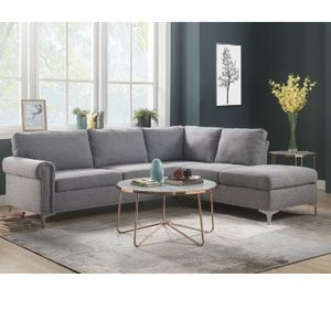 Grey Sofa Sectional Couch No Credit Check No Credit Needed Apply Today for Sale in Downey, CA