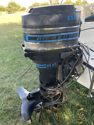 Mercury boat motor for parts for Sale in Burleson, TX