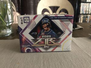 2020 topps fire mlb blaster for Sale in Dallas, TX
