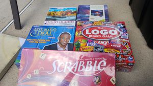 Unopened games and puzzles for Sale in Woodbury, NJ