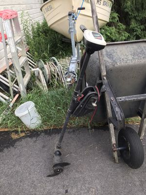 Trolling motor 34lb thrust for Sale in Southborough, MA