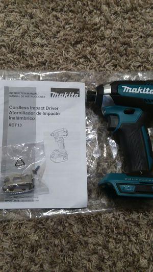 NEW impact driver Makita 18V. for Sale in Lynnwood, WA