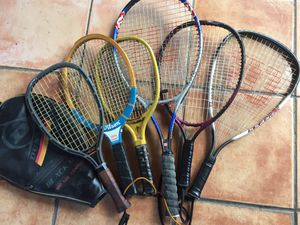 Tennis/Racked ball rackets all for $20 for Sale in Miami, FL