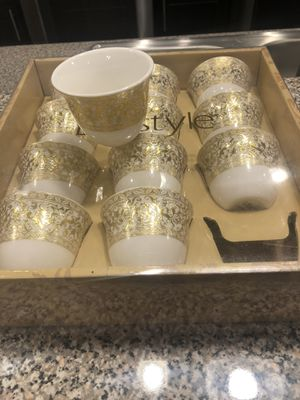 Arabic coffee cups for Sale in Garner, NC