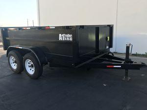 Dump Trailer 8x10x2 for Sale in San Diego, CA