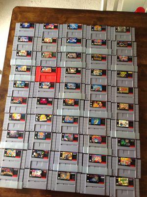 Super Nintendo Games for Sale in Garner, NC