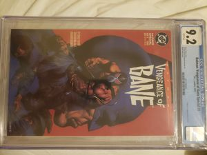 Batman Vengeance of Bane 1993 1st print for Sale in Montclair, CA