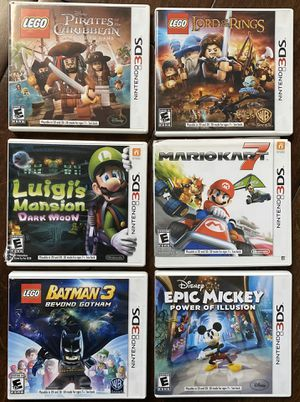 Nintendo 3DS games - group of 6 for Sale in San Clemente, CA