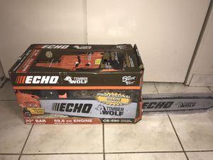 Echo chainsaw for Sale in Dearborn, MI