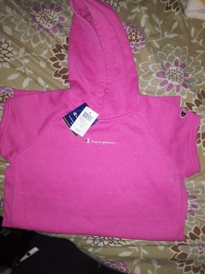 Brand new womans pink champion hoodie dress sz large for Sale in Brooklyn, NY