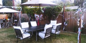 Brand new patio set table for $500 cash for Sale in Fresno, CA