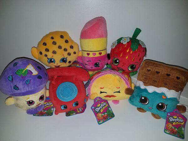 NEW! Stuffed Shopkins toys