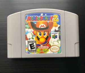 New Video Game Cartridge Console Card For Nintendo N64 Mario Party 2 US Version for Sale in Lowellville, OH