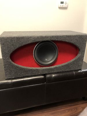JL Audio W7 10in HO Box PARTS ONLY for Sale in Los Angeles, CA