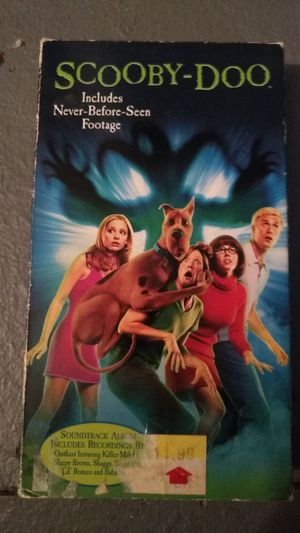 Scooby Doo vhs for Sale in Missoula, MT