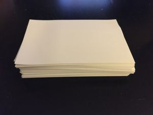 4x6 blank photo paper for Sale in Boston, MA