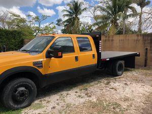 2008 Ford F-350 flatbed for Sale in Miami Gardens, FL