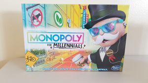 Monopoly for Millennials by Hasbro for Sale in Wesley Chapel, FL