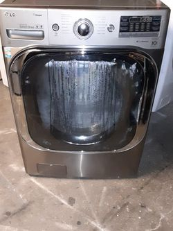 Washer LG Large Capacity Good Condition 3 Months warranty Delivery And Install for Sale in San Leandro,  CA