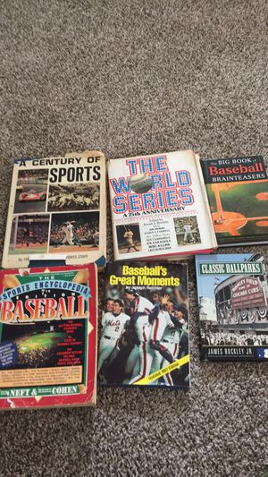 Vintage sports books for Sale in North Fond du Lac, WI