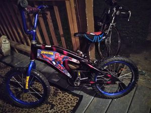 KIDS 12 INCH BIKE. SPIDERMAN for Sale in Cleveland, OH