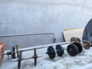 Weights 👌 work good for Sale in Long Beach, CA