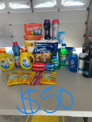 Health beauty & washing supplies for Sale in Irvine, CA