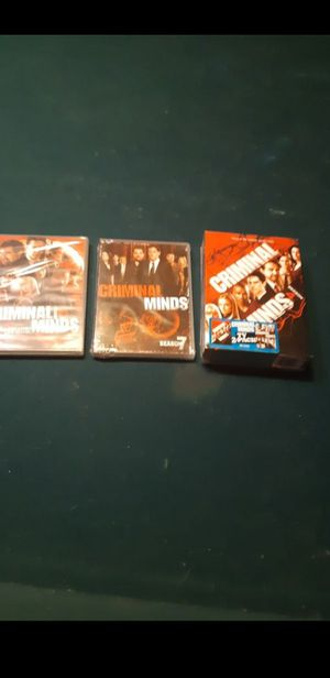 Season 4,5,6 and 7 of Criminal Minds for Sale in San Marino, CA