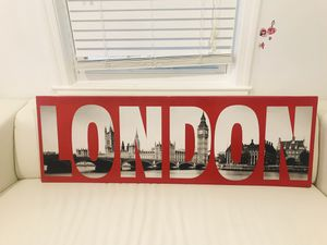 "Beautiful LONDON Framed Canvas Print. 47""x15"" for Sale in South Kensington, MD"