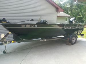 1650 Lund Rebel XL Deep-V Fishing Boat for Sale in Andover, MN